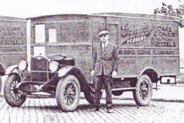 Image of Old Delivery Truck